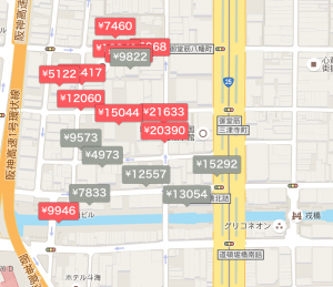 Airbnb大阪物件