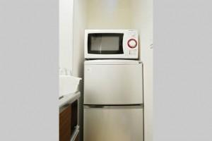 大阪Airbnb冷蔵庫