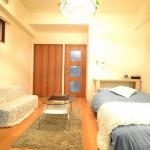 大阪浪速区Airbnb物件家具・家電付き物件
