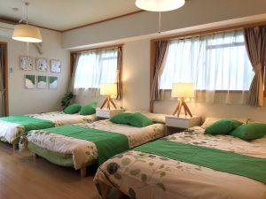 Airbnb大阪インテリアコーディネート