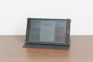 株式会社ダイムスが提供している無人宿泊施設、住宅宿泊事業向けタブレット
